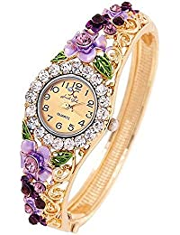 Jewels Galaxy Copper Bangle for Women (Multi-Colour)(SMNJG-WTC-9000)