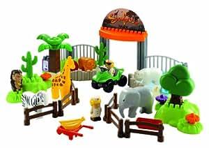 Ecoiffier - 3145 - Jeu de construction - Safari Park - Abrick