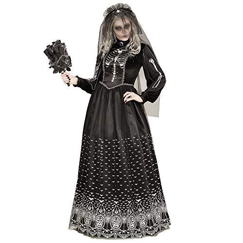 Widmann 06404 Erwachsenen Kostüm Skelettbraut, womens,