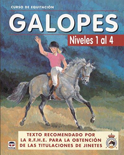 GALOPES NIVELES DEL 1 AL 4 (Curso de equitacion / Equitation course) por AA.VV.