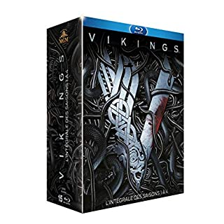 Coffret vikings, saisons 1 à 4 [Blu-ray] [FR Import]