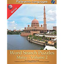 Parleremo Languages Word Search Puzzles Malay - Volume 2