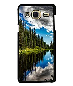PrintVisa Designer Back Case Cover for Samsung Galaxy J3 (2015) (Sky Clouds Beauty Clear Blue)