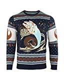Star Wars Jersey De Navidad Millennium Falcon Space Slug Escape Unisexo - 2XL