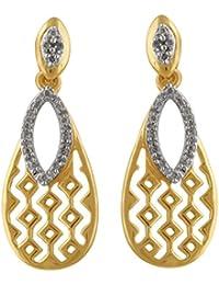 Senco Gold 14KT Yellow Gold and Diamond Stud Earrings for Women
