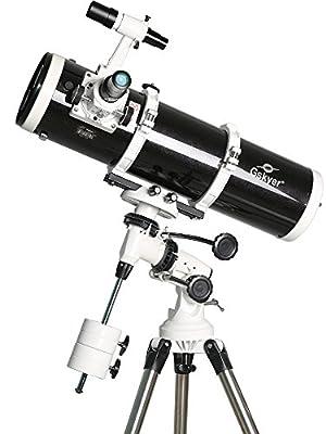gskyer® AstroMaster 130EQ Reflektor Teleskop