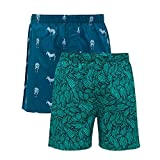 #1: XYXX Men's Printed Cotton Boxer(Pack of 2)