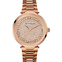 Wittnauer Men's Taylor Rose Gold Tone Stainless Steel Bracelet Watch