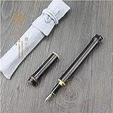GWXNatural de bambú bambú mariposas, héroes, bolígrafos, plumas de bambú, bambú y piezas de madera,B 0.5mm