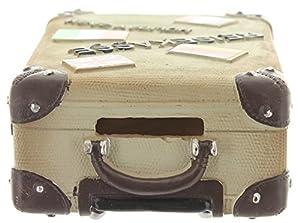Spardose,Sparbüchse Reisekoffer aus Polyresin