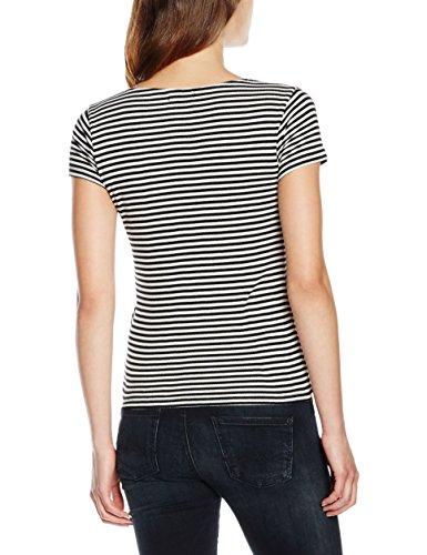 Pepe Jeans Patricia, T-Shirt Femme Noir (Black)