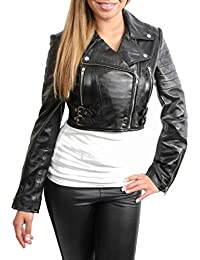 suchergebnis auf f r damen lederjacke biker. Black Bedroom Furniture Sets. Home Design Ideas