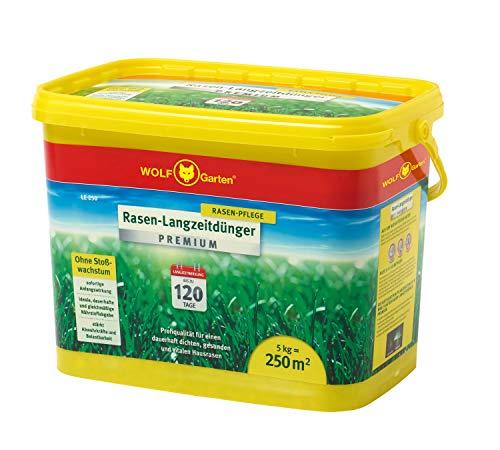 WOLF-Garten - Rasen-Langzeitdünger »Premium« 120 Tage LE 250; 3830030