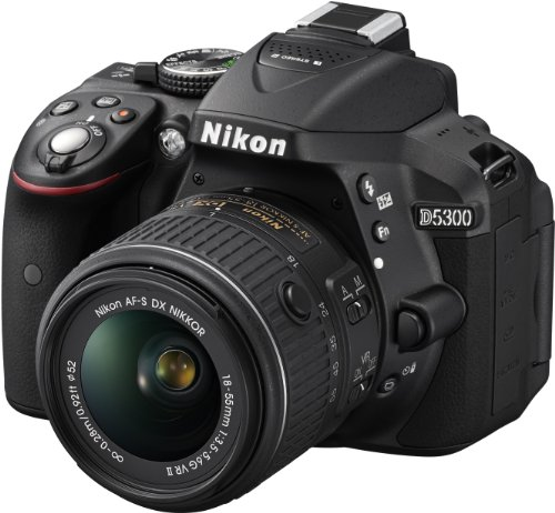 nikon-d5300-digital-slr-with-18-55mm-vr-ii-compact-lens-kit-black-242-mp-32-inch-lcd