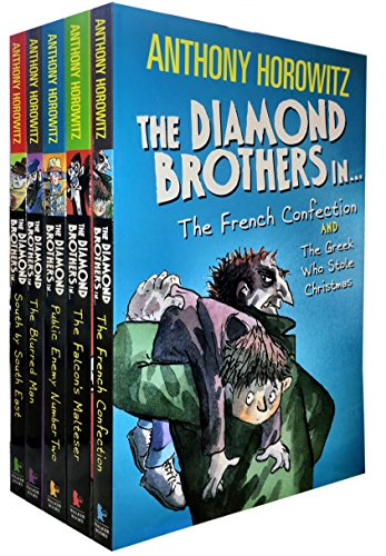 Diamond Brothers (Anthony Horowitz Diamond Brothers 7 Books Collection Pack Set (The Greek Who ...)