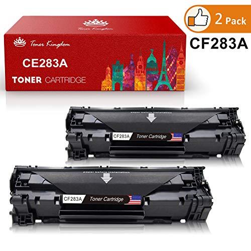 Toner Kingdom 2 Pack Kompatibel HP 83A CF283A Toner für HP Laserjet Pro MFP M125a M125nw M125rnw M126a M126nw M127fn M127fp M127fw M128fn M128fp M128fw M225dn M225dw Laserjet Pro M201dw M201n M202dw