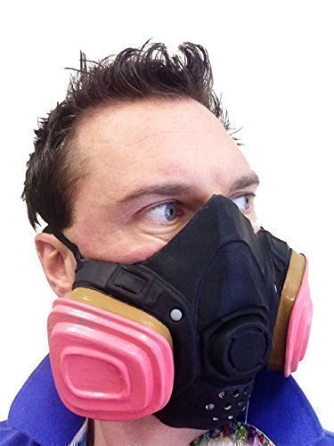 Gas Maske Bad Chemiker US TV-Show Heisenberg Latex -