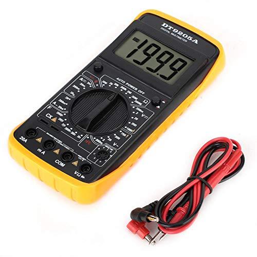 OUYAWEI Digital DT-9205A Multimeter LCD AC/DC Amperemeter Widerstands-Kapazitäts-Tester Handheld Digital Volt Amp Ohm HzHandheld hFE-Tester Elektronisches Zubehör