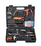 #8: (CERTIFIED REFURBISHED) Black+Decker Hand Tool Kit (108-Piece), Orange and Black