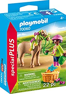 Playmobil 70060 Special Plus niña con Pony, Multicolor
