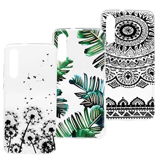 für Xiaomi Mi 9 Handyhülle für Xiaomi Mi 9 Hülle Case Cover Transparent Silikon Weich Tasche Durchsichtig Schutzhülle Handytasche Skin Softcase Dünn Schale Bumper Handycover *3 Silikonhüllen