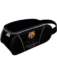 Karactermania FC Barcelona Bolsa Para Zapatos, 34 cm, Negro