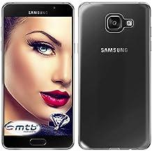 mtb more energy® Funda Clear & Slim para Samsung Galaxy A5 2016 (SM-A510, 5.2'')   transparente   flexible   delgada   Gel TPU Silicona Carcasa Suave Cascara