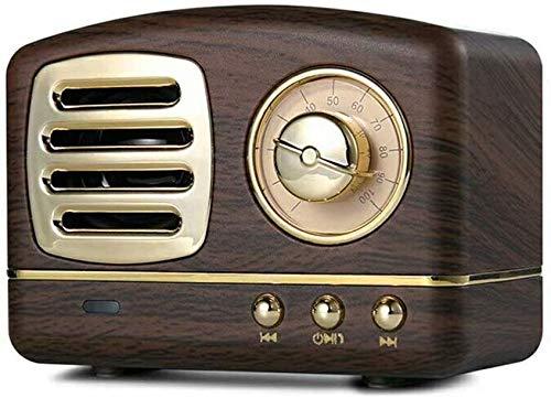 COOLEAD Altavoz portatil Bluetooth Vintage Mini Efecto del Sonido HiFi Envolvente estéreo...