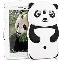 kwmobile FUNDA DE SILICONA Diseño Panda para Samsung Galaxy S3/S3 Neo - Un diseño elegante y una protección óptima