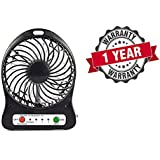 Portable Rechargeable LED Fan Air Cooler Mini Operated Desk USB 18650 Battery Operated Clip Cooling 3-Mode Fan, Small Personal USB Or Battery Powered Fan, Rechargeable By NetBook, PC, 360 Degree Rotation, Powerful Wind For Baby Stroller, Outdoor Activity,