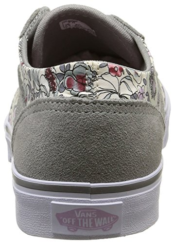 Vans Milton - Scarpe da Ginnastica Basse Donna Grigio (vintage Floral/gray/lavender)