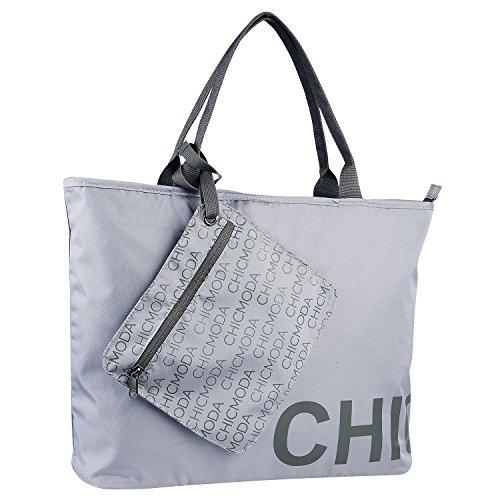 chicmoda-fashion-tote-bag-shoulder-bag-handbag-with-zipper-pouch-grey