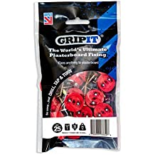 Gripit - Red/18mm - Pack of 25