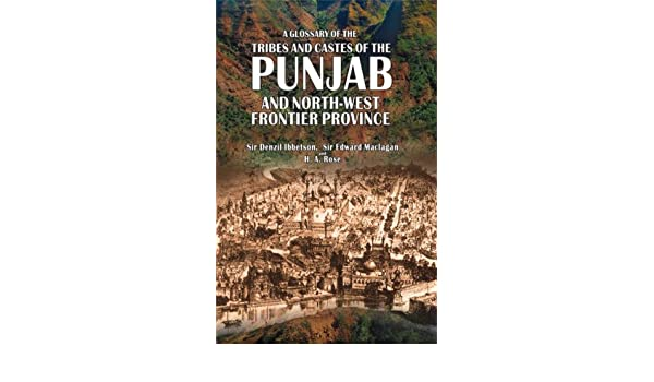 Buy A Glossary of the Tribes and Castes of the Punjab and