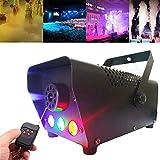 500W LED Machine à fumée avec Télécommande sans fil - 3000 Cufl/min, machine à brouillard conduit verticale pour l'étape, brumisateur, partie, club, disco, décorations de Halloween, mariage, DJ