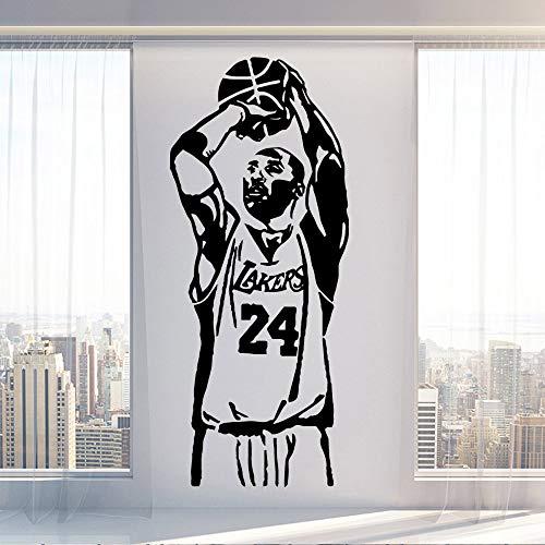 Baloncesto Kobe Bryant Lakers Pegatinas Pared Decoraciones