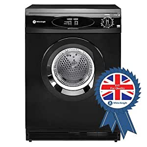 White Knight C44A7B 7kg Reversing Vented Tumble Dryer