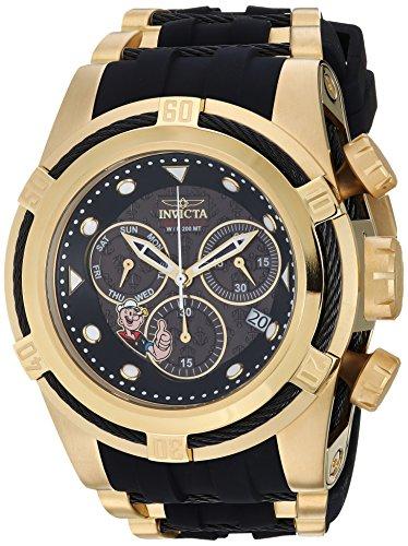 Invicta Men's Analog Quartz Watch with Silicone Strap 24896