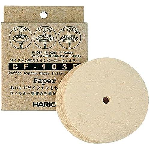 Hario sifone esposto solo per un filtro di carta (100 pezzi) CF-103E (japan import)