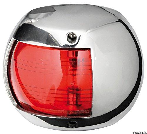 Osculati 11.406.01 - Compact 12 Navigationslicht AISI 316/112,5° rot