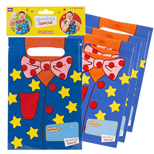 Image of MR TUMBLE SOMETHING SPECIAL KIDS CHILDRENS PARTY BAGS PACK OF 6