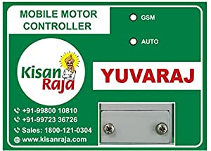 KisanRaja-YUVARAJ Mobile Motor Controller(Missed Call/SMS based)