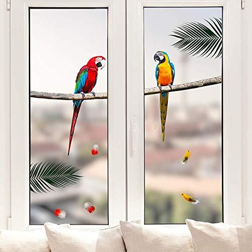Pixblick Fenstersticker - Papageien