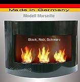 Bio Ethanol Cheminee Marseille - Choisissez parmi 6 couleurs (NOIR)