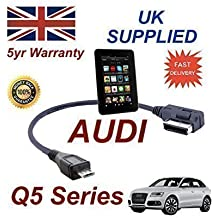 Cable AMI MMI de Audi Q5 Series para Amazon Kindle Fire HD 4F0051510M - Cable Micro USB