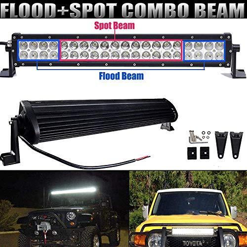 Offroad 120W LED Light Bar High Power Spot Flood Combo