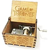 BadarenXS Pure Hand-Classic Game of Thrones Hand-Wooden Music Box / Merry Christmas, Star Wars / Creative Wooden Craft