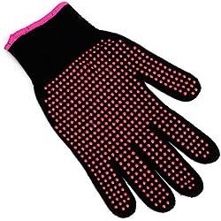 Lergo - Guantes de dedo para peluquería (1 pieza, rizado), resistentes al calor