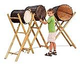 bel-O-ton Basstrommel Eco Dundun aus Bambus, verschiedene Größen (Durchmesser) erhältlich