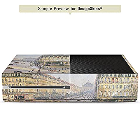 Sony Playstation 4 Pro PS4 Folie Skin Sticker aus Vinyl-Folie Aufkleber Camille Pissarro The Avenue de L